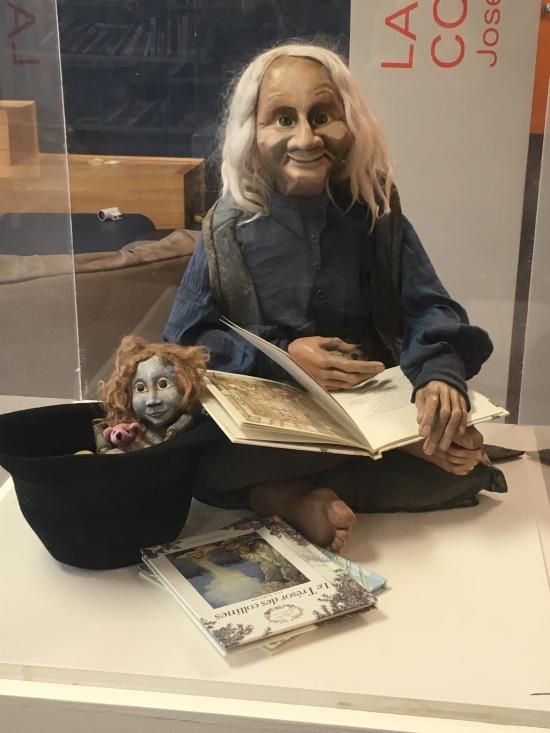 Noémi Bélanger marionnettiste